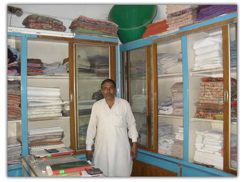 Sales Man in Khadi Bhandar